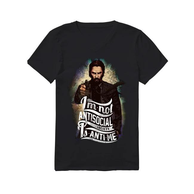 Keanu Reeves John Wick V-neck T-shirt