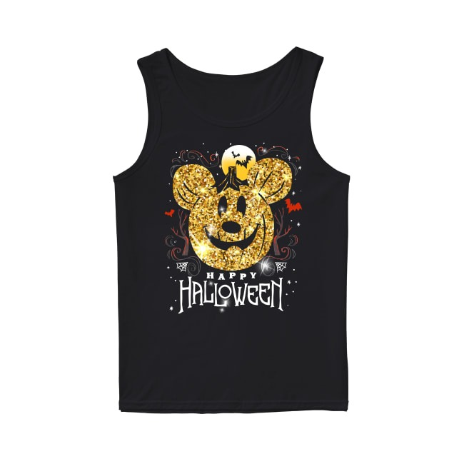 Mickey Mouse Happy Halloween Tank Top