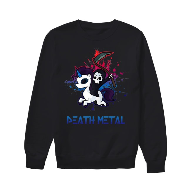 Official Unicorn Death Metal Sweater