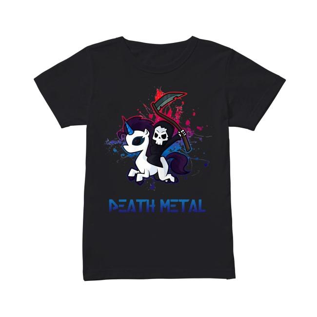 Official Unicorn Death Metal Ladies Tee