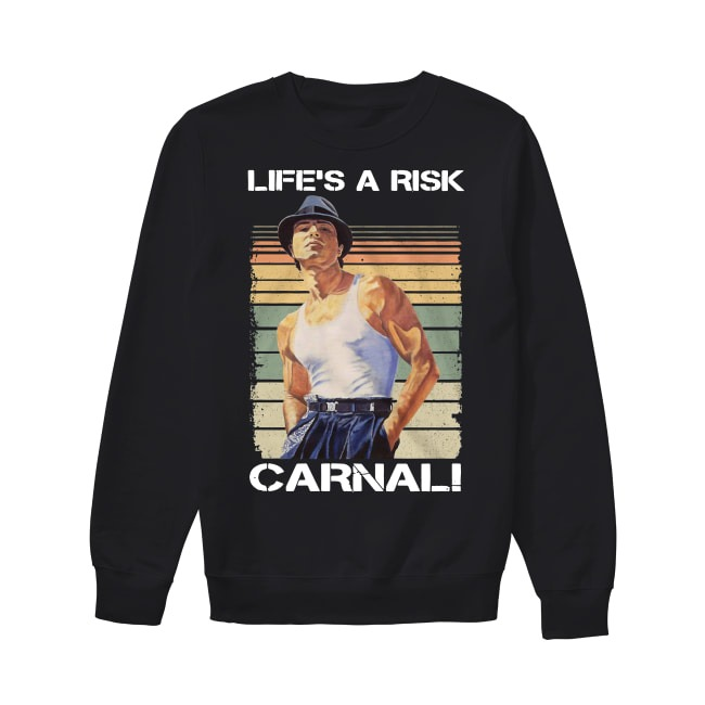 Paco Aguilar Life's A Risk Carnal Sweater