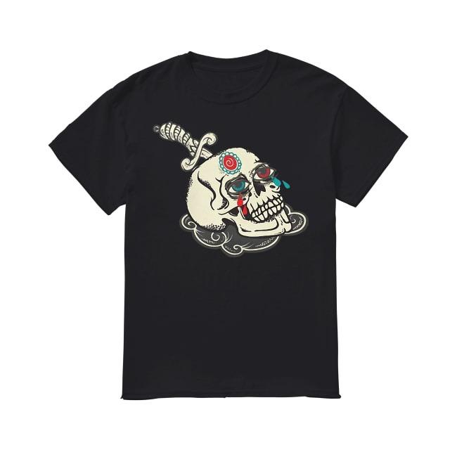 Skull Tattoos Tears shirt