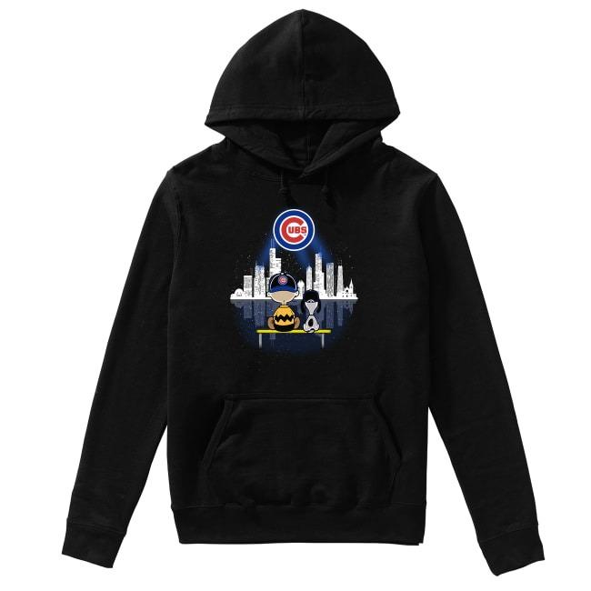 Snoop Chicago Cubs Baseball Hoodie