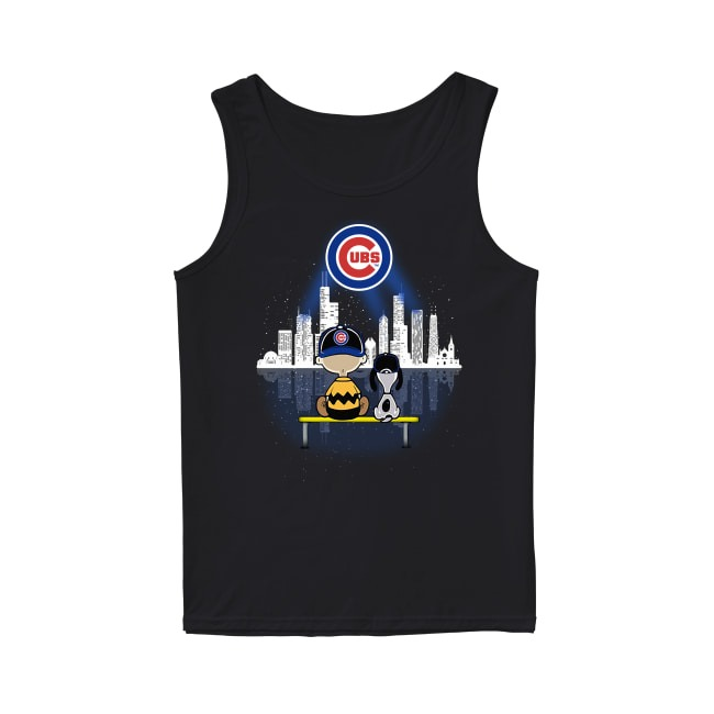 Snoop Chicago Cubs Baseball Tank Top