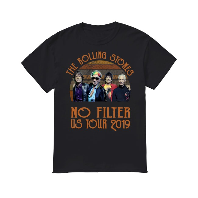 Vintage The Rolling Stones No Filter Us Tour 2019 shirt