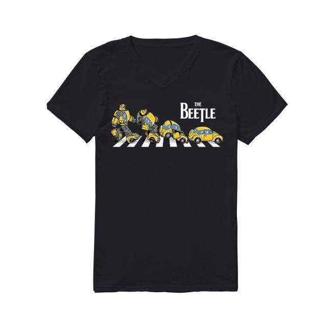 Volkswagen Cars The Beetle V-neck T-shirt