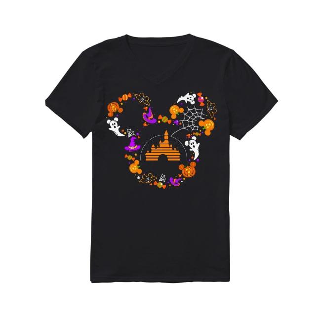 Walt Disney Halloween V-neck T-shirt