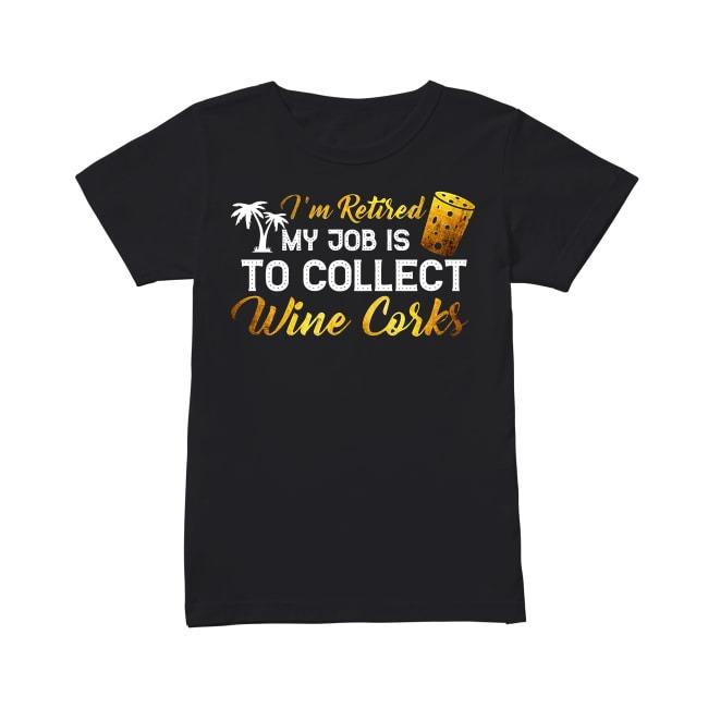 Wine Corks Ladies Tee