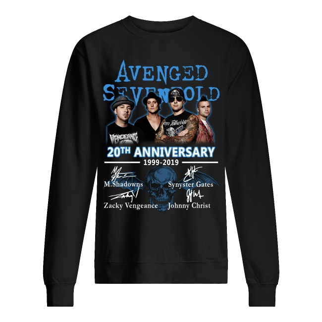 20th Anniversary Avenged Sevenfold 1999-2019 Sweater