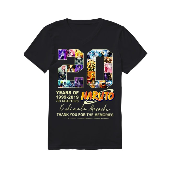 20th Years Of Naturo 1999-2019 V-neck T-shirt