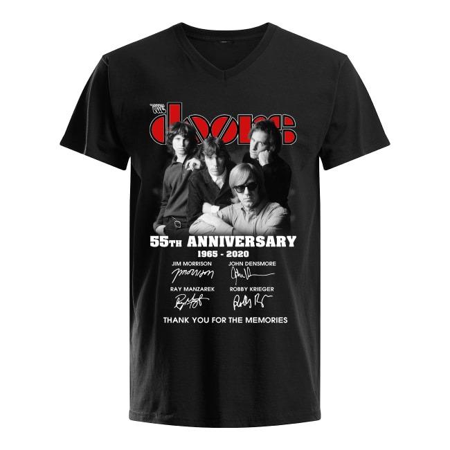 55th Anniversary The Doors 1965-2020 V-neck T-shirt