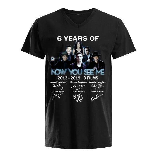 6th Years Of Now You See Me 2013-2019 V-neck T-shirt