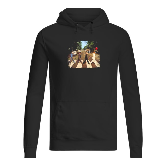 Abbey Road The Beatles and Horror Movies Hoodie