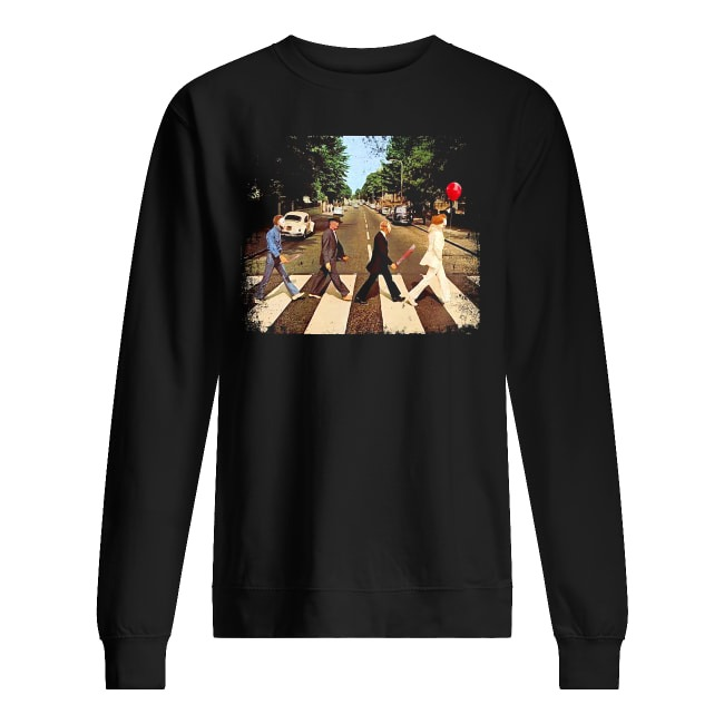 Abbey Road The Beatles and Horror Movies Sweater