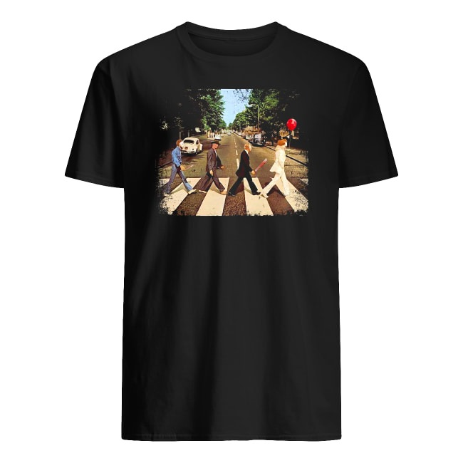 Abbey Road The Beatles and Horror Movies shirt