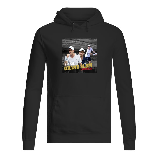 Andy Murray Tennis Grand Slam Champion Hoodie