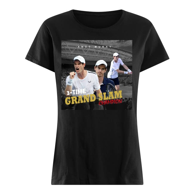 Andy Murray Tennis Grand Slam Champion Ladies tee