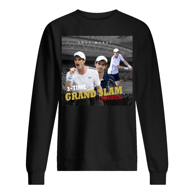 Andy Murray Tennis Grand Slam Champion Sweater