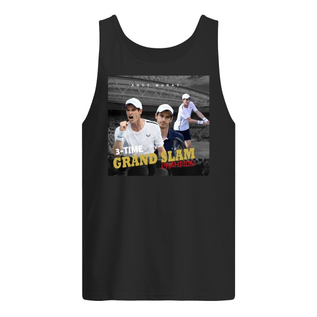 Andy Murray Tennis Grand Slam Champion Tank Top
