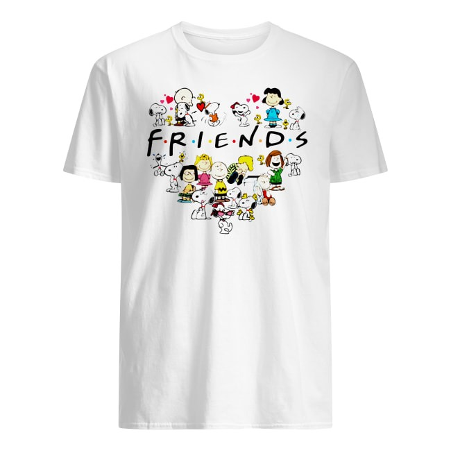 Charlie Brown and Snoopy Friends shirt