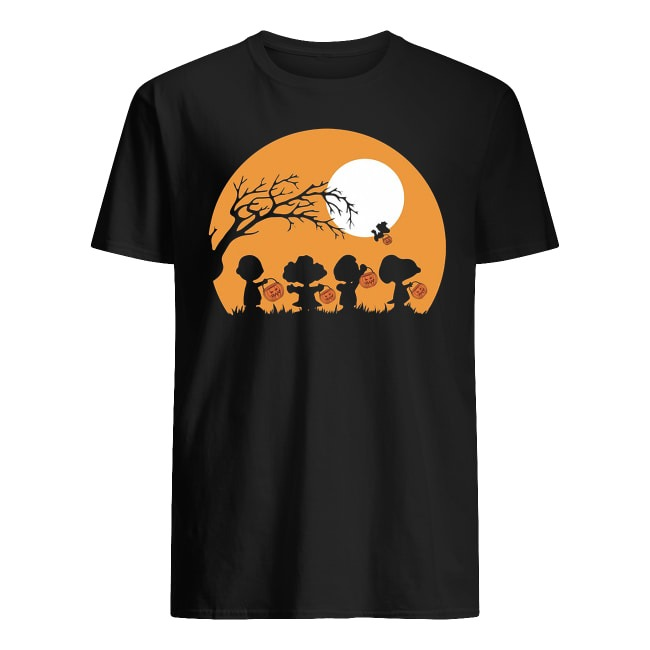 Charlie Brown and Snoopy Happy Halloween shirt