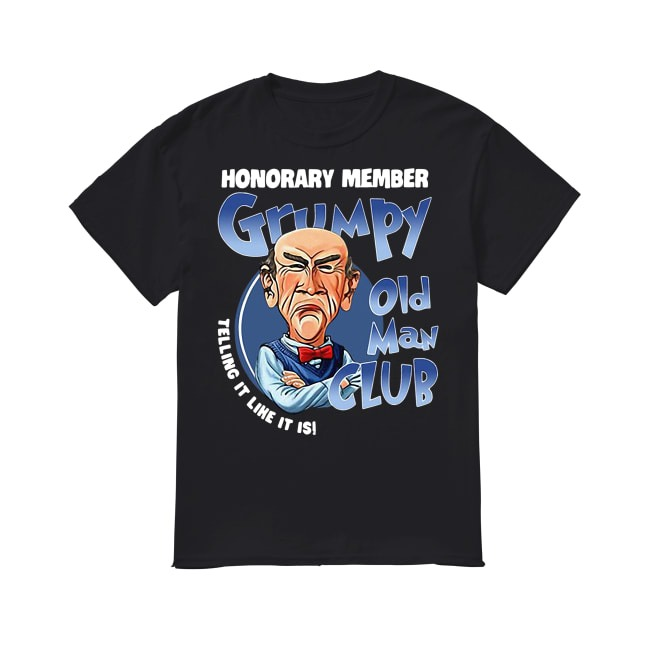 Grumpy Old Man Club shirt