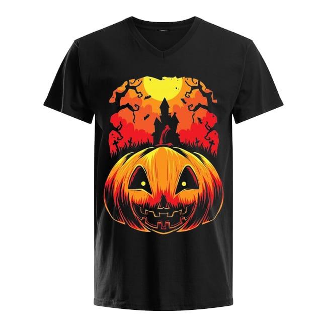 Happy Halloween Day 2019 V-neck T-shirt