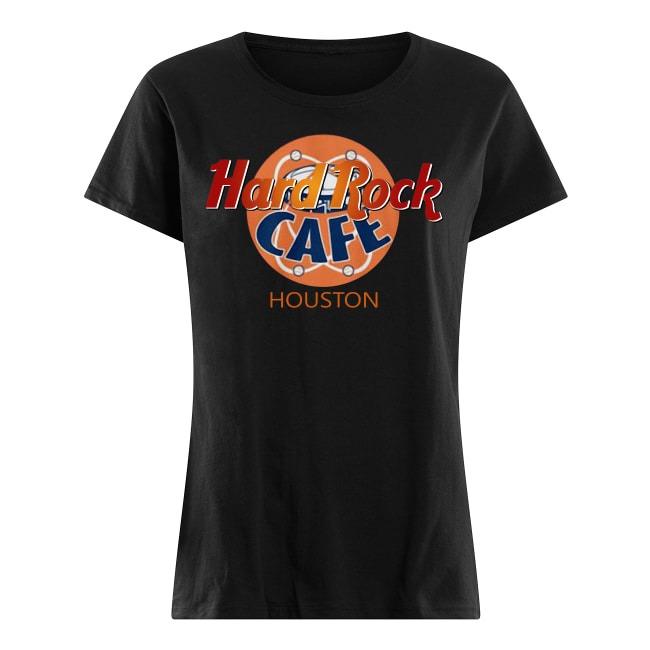 Hard Rock Cafe Houston Ladies tee