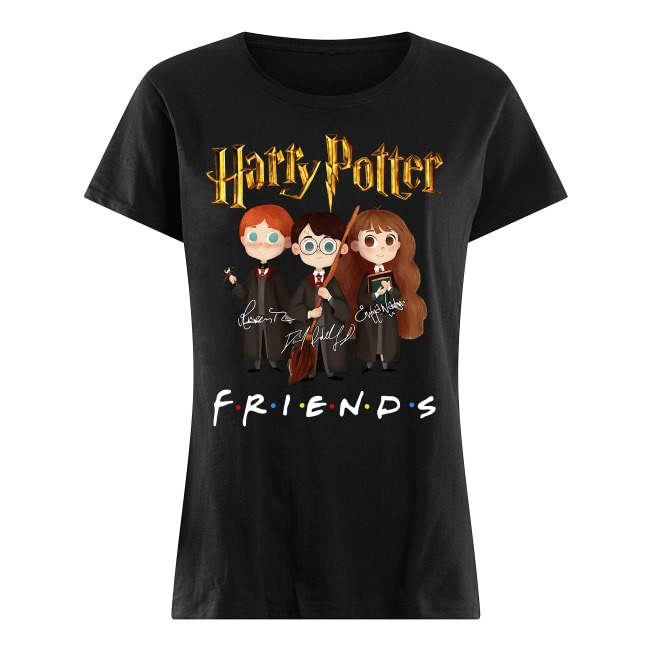 Harry Potter Friends Signatures Ladies tee