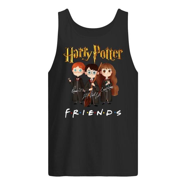 Harry Potter Friends Signatures Tank Top