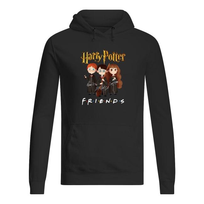 Harry Potter Friends Signatures Hoodie