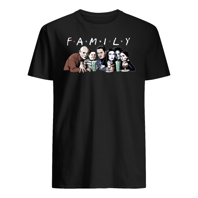 Horror Movies Character Family shirt