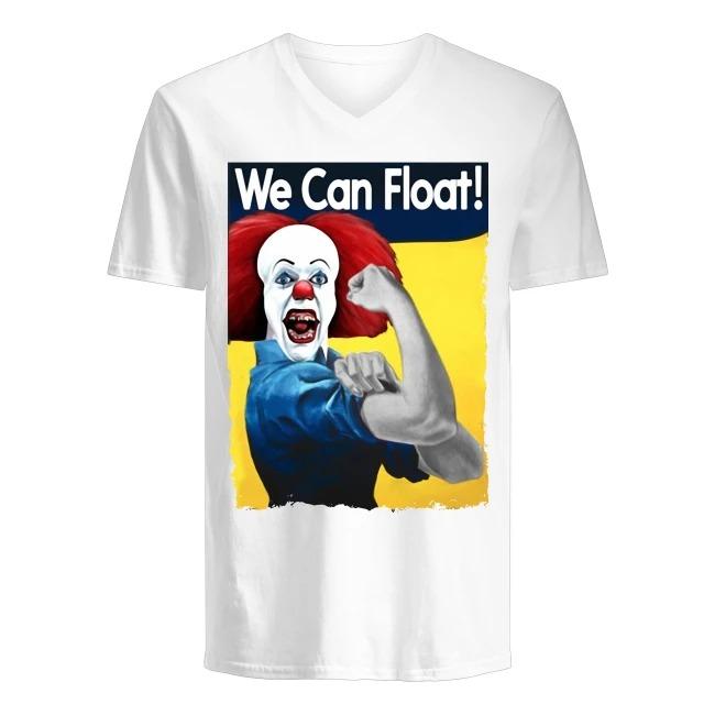 Joker We Can Float V-neck T-shirt