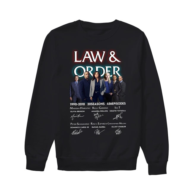Law and Order 1990-2010 Sweater
