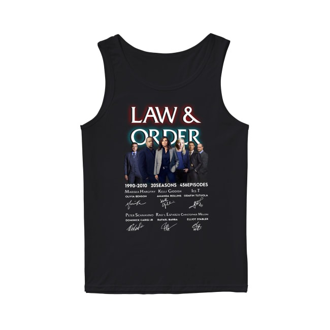 Law and Order 1990-2010 Tank Top