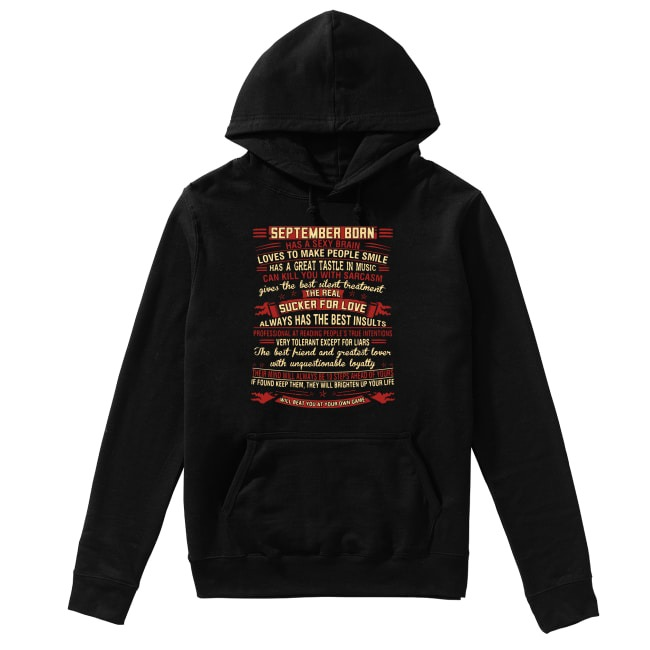 September Born The Real Sucker For Love Hoodie