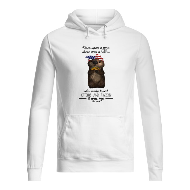Otters and Tacos Hoodie