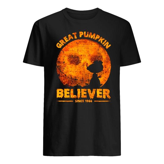 Peanuts Halloween The Great Pumpkin Believer Since 1966 shirt