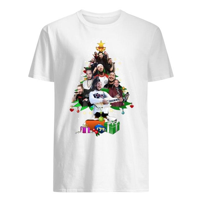 Post malone merry christmas tree shirt