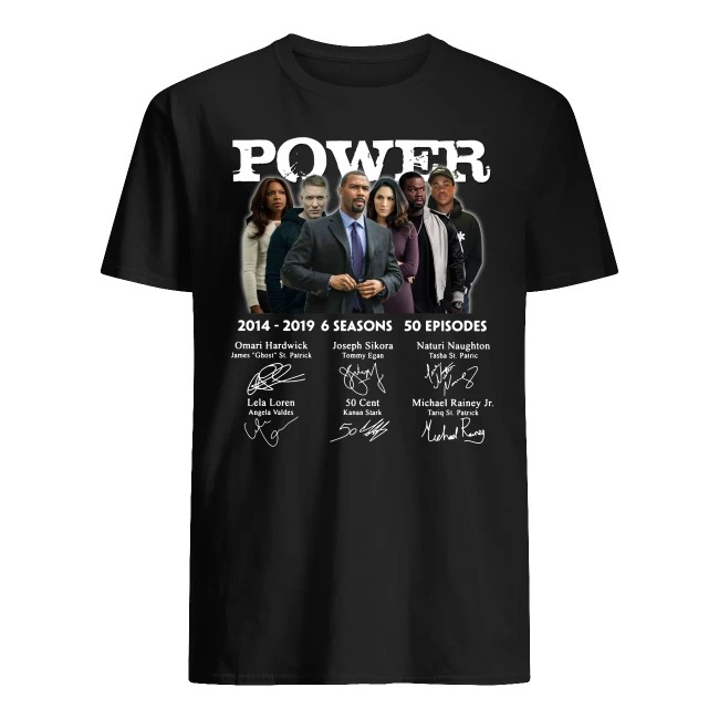 Power 2014-2019 Signature shirt