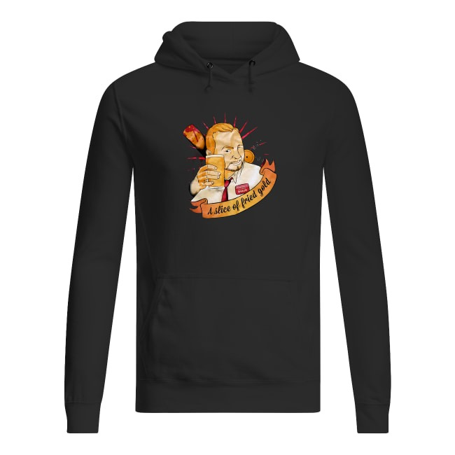 Shaun Of The Dead A Slice Of Fried Gold Hoodie