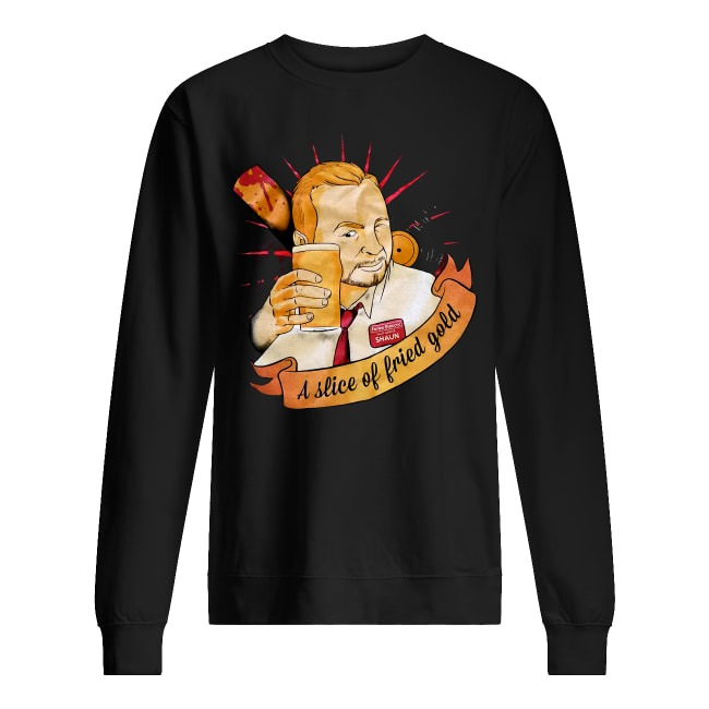 Shaun Of The Dead A Slice Of Fried Gold Sweater