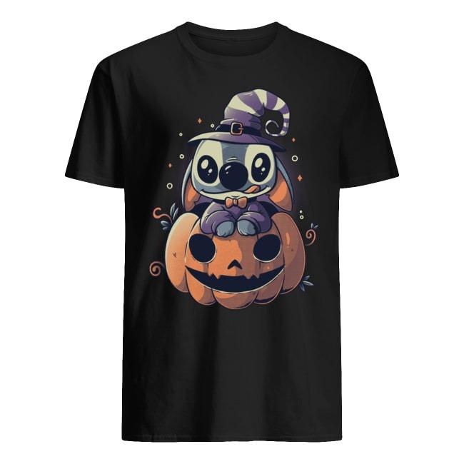 Stitch Pumpkin Happy Halloween shirt
