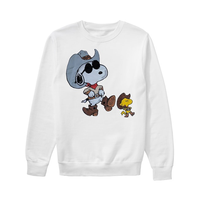 Vintage double sided Snoopy Sweater