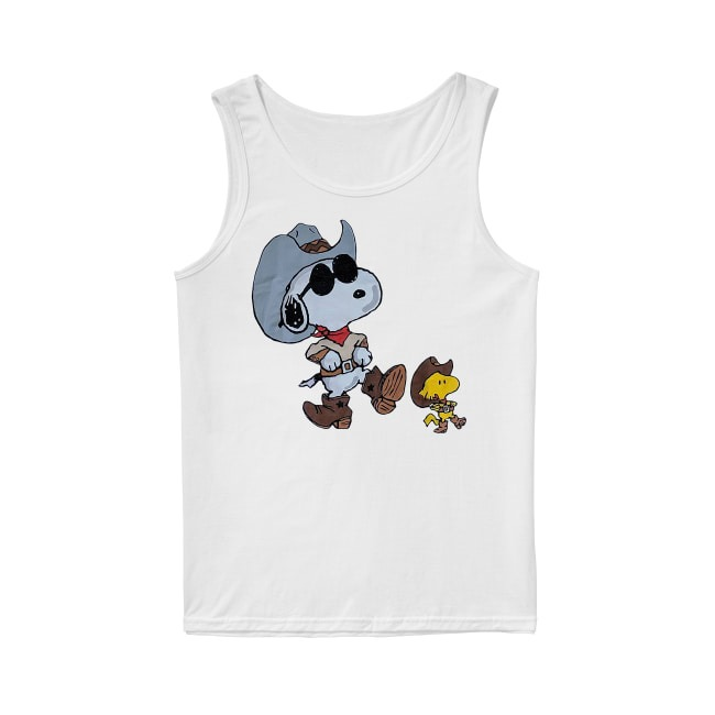 Vintage double sided Snoopy Tank Top