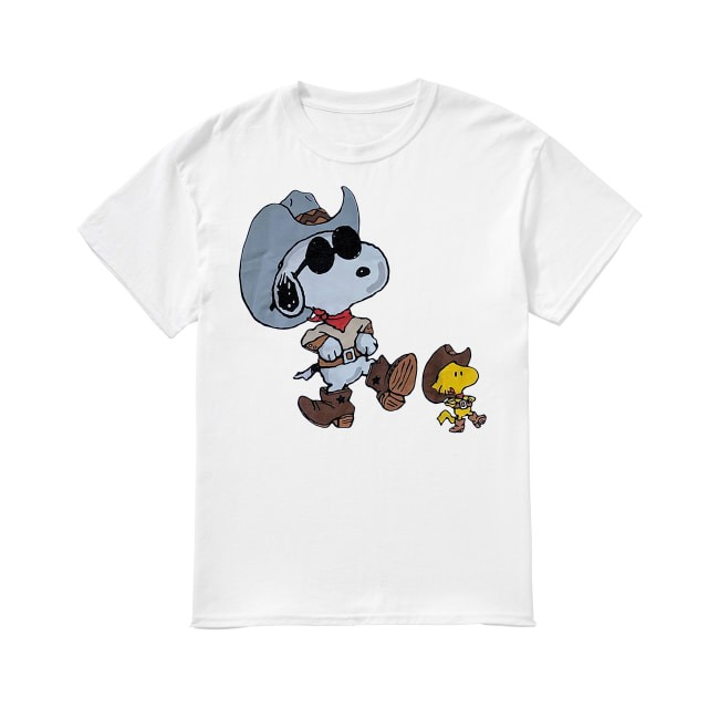Vintage double sided Snoopy shirt