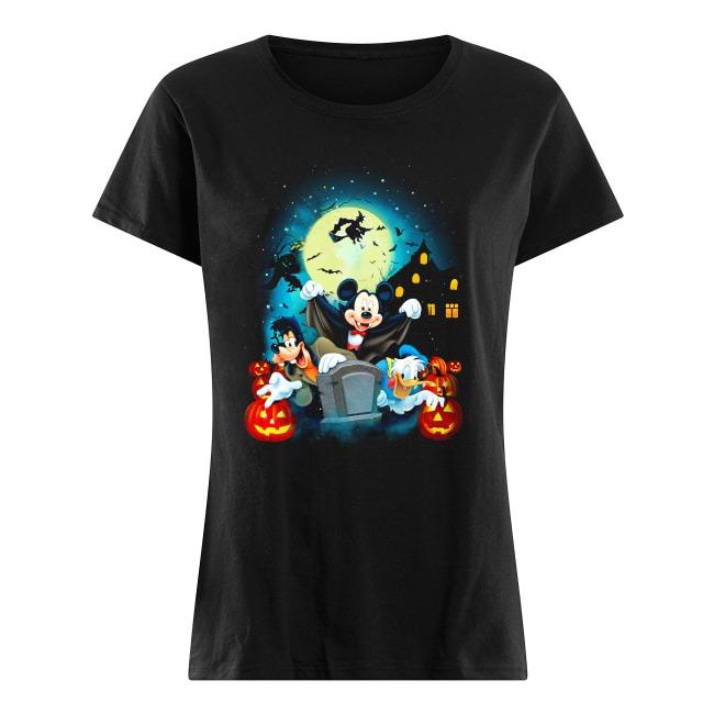 Walt Disney Happy Halloween Ladies Tee