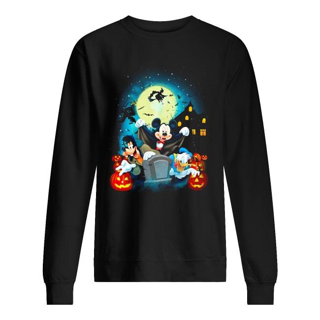 Walt Disney Happy Halloween Sweater