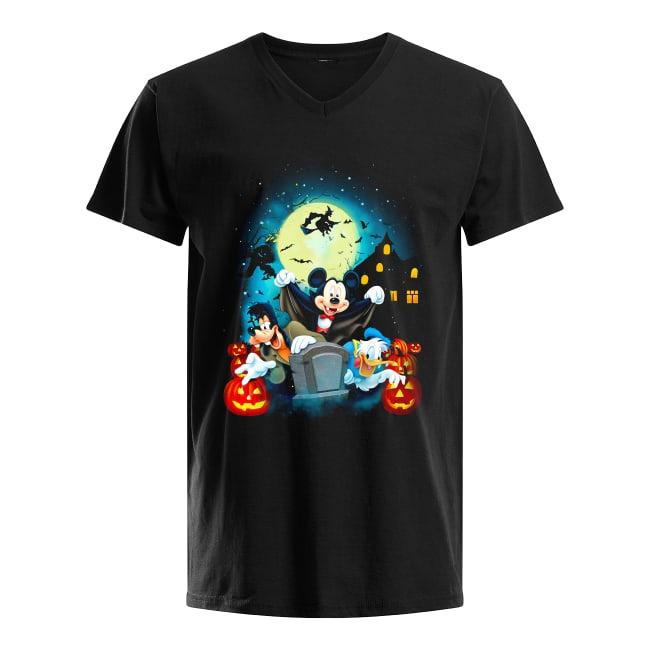 Walt Disney Happy Halloween V-neck T-shirt