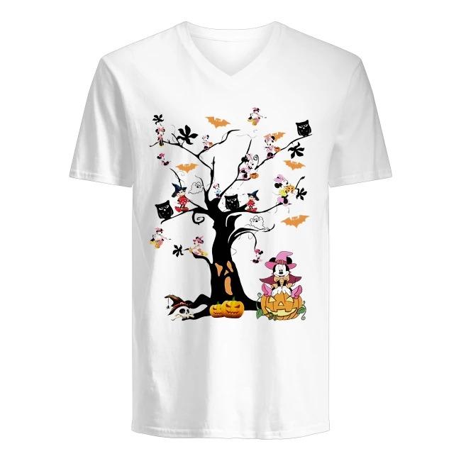 Walt Disney Mickey Happy Halloween V-neck T-shirt